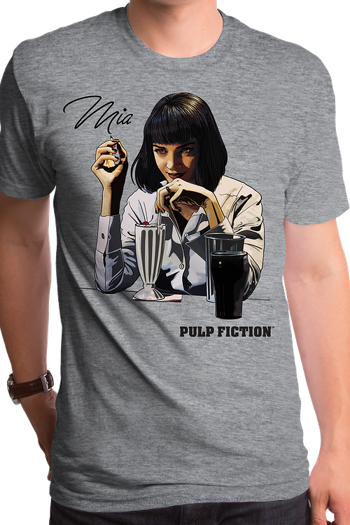 Pulp Fiction Mia Wallace T-Shirt