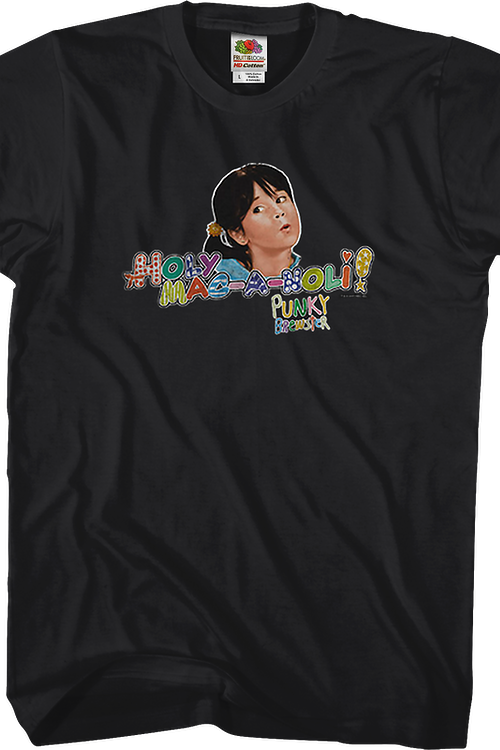 Holy Mac-A-Noli Punky Brewster T-Shirt