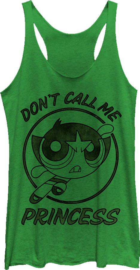 Buttercup Don't Call Me Princess Tank Top