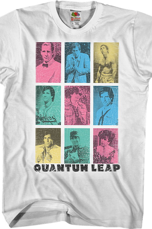 Different Faces Quantum Leap T-Shirt