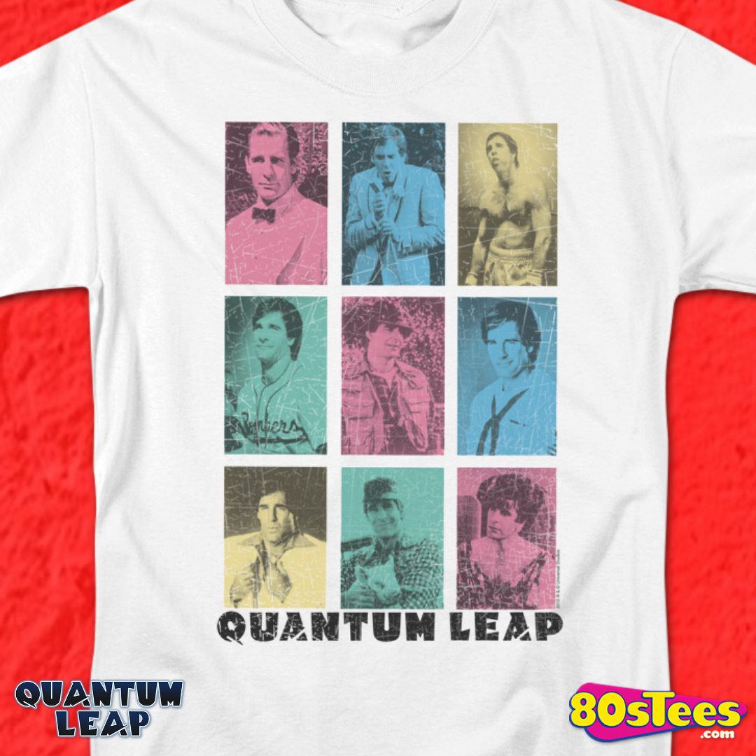 BOY Quantum Leap TV Show Sam Beckett Face OH Long Sleeve T-Shirt S-3XL