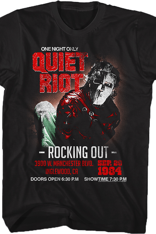 Rocking Out Quiet Riot T-Shirt