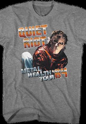 84fb00f58 Metal Health Tour Quiet Riot T-Shirt