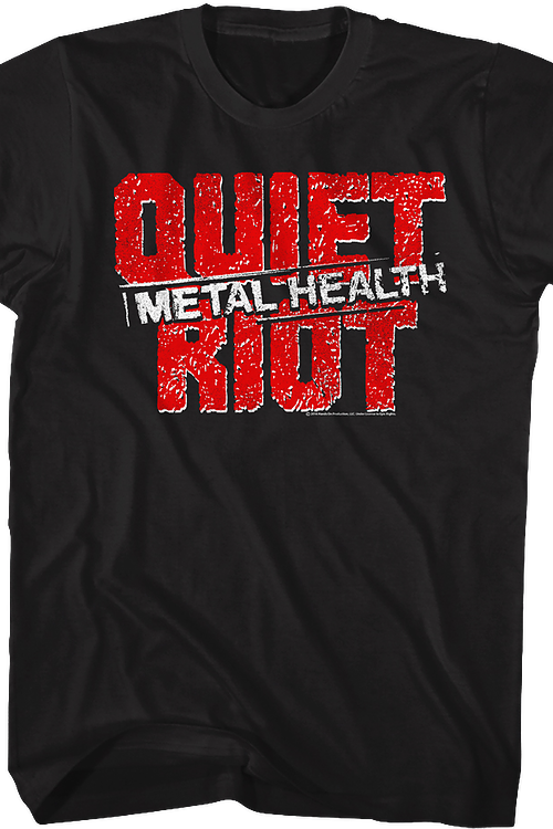 Metal Health Stamp Quiet Riot T-Shirt