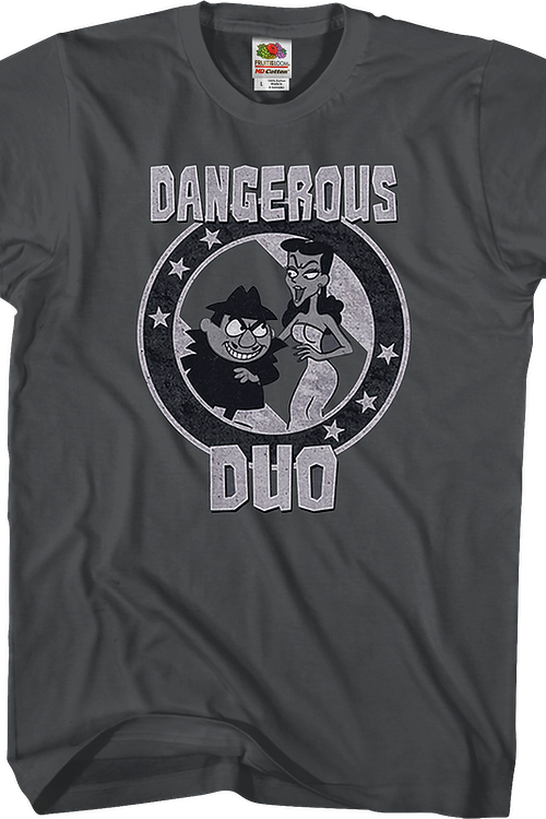 Dangerous Duo Rocky and Bullwinkle T-Shirt