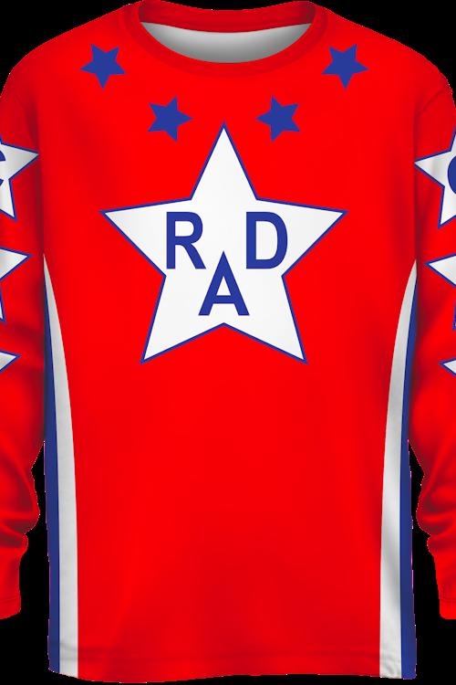 da9c9b24fea32 Cru Jones Replica Jersey Rad Movie: Rad Mens Long Sleeve Shirt