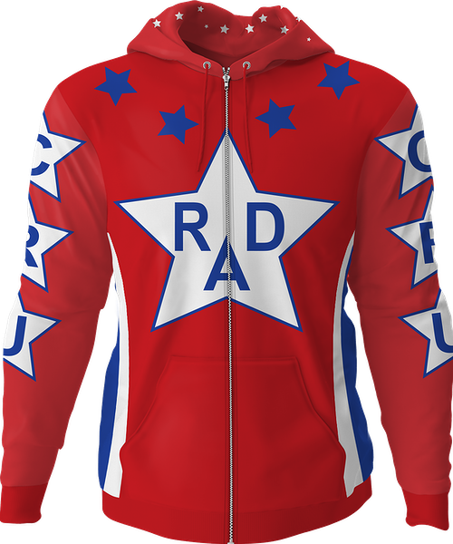 Cru Jones Rad Zip-Up Hoodie