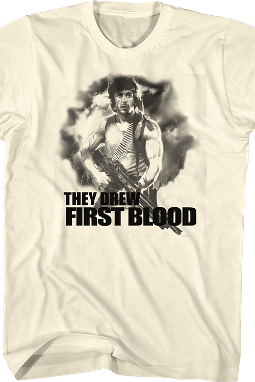 They Drew First Blood Rambo T-Shirt