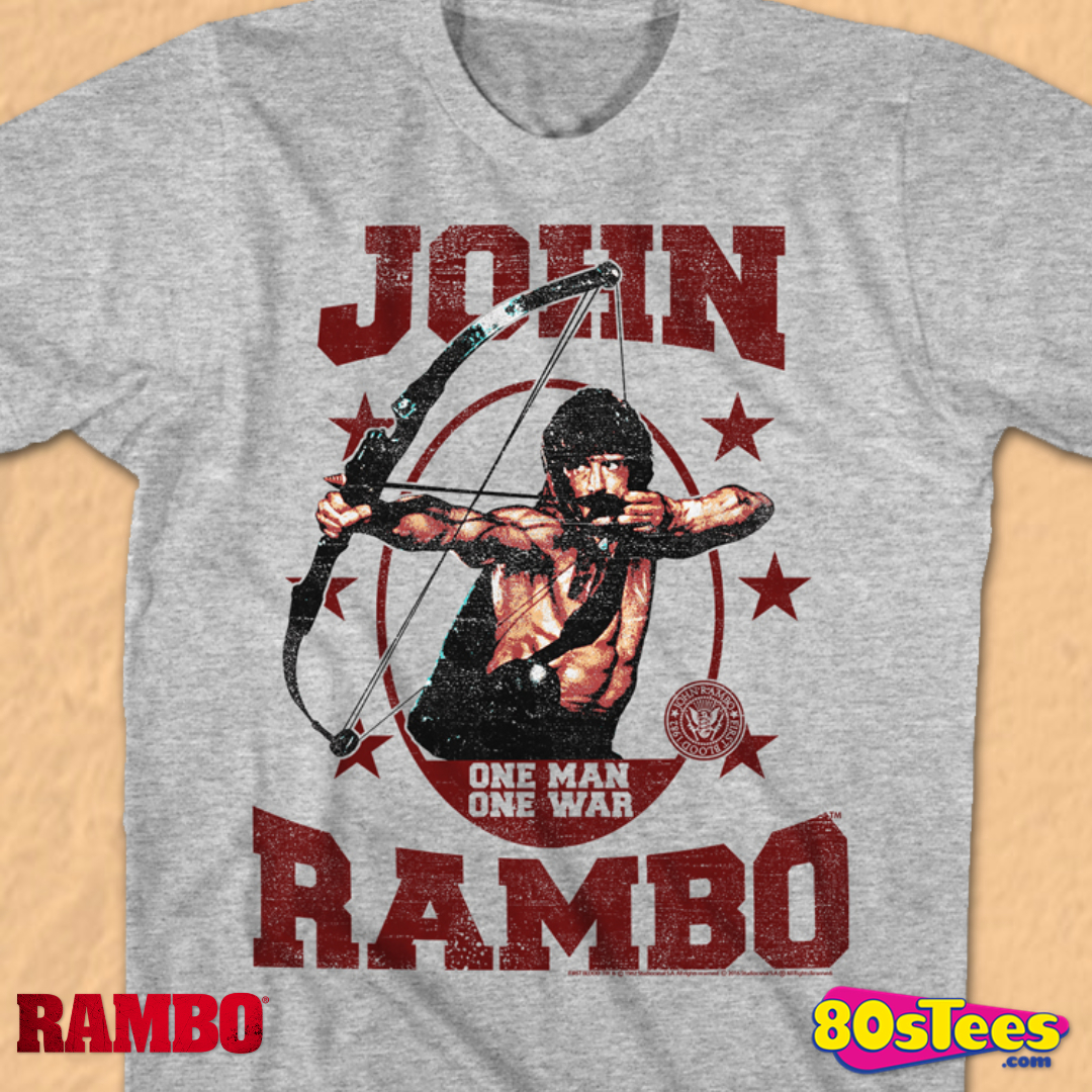 Rambo Become War Military Green Youth T-Shirt