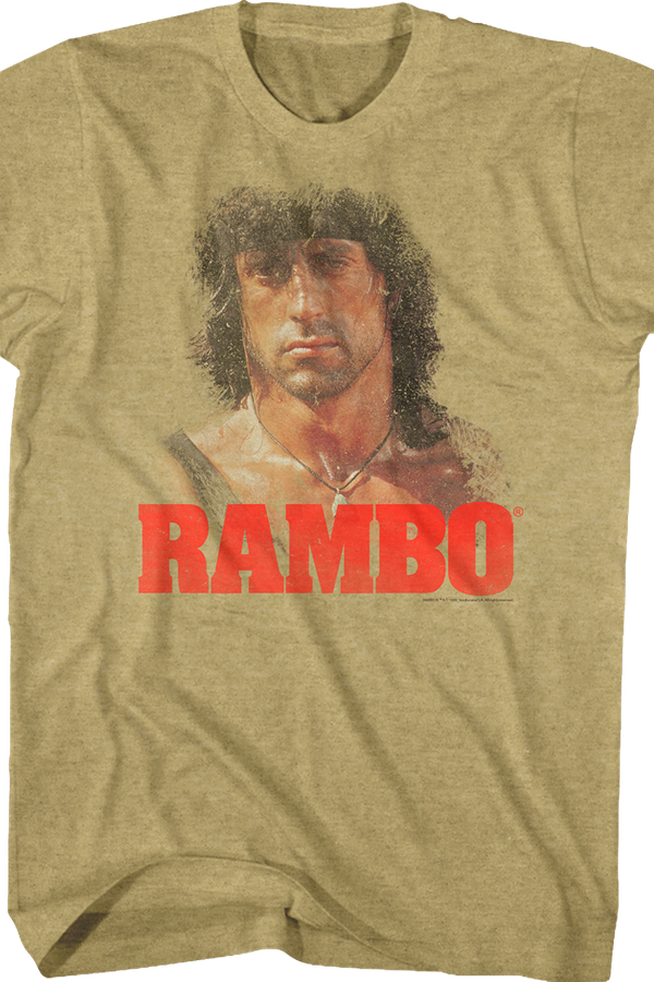 Distressed Rambo T-Shirt