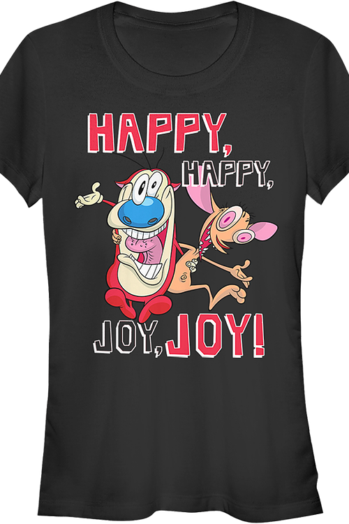 Junior Happy Happy Joy Joy Ren and Stimpy Shirt