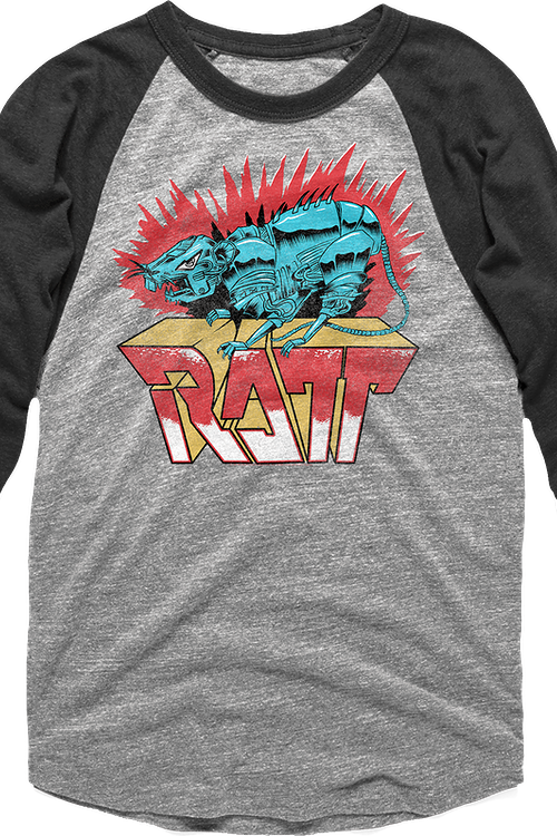 Robotic Ratt Raglan Baseball Shirt