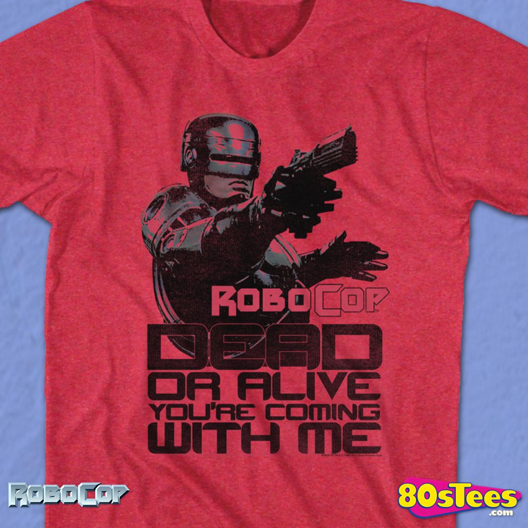 Robocop Dead Or Alive Licensed Adult T Shirt
