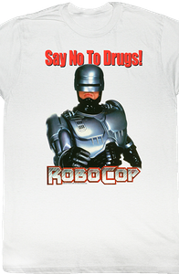 Say No To Drugs Robocop T-Shirt