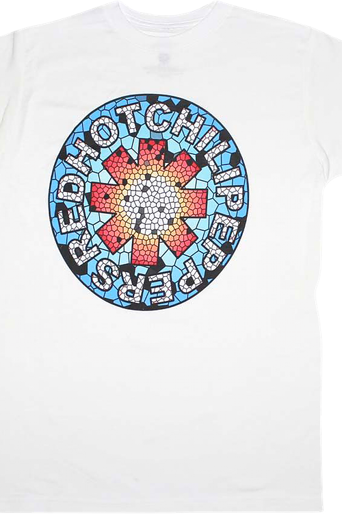 Mosaic Logo Red Hot Chili Peppers T-Shirt