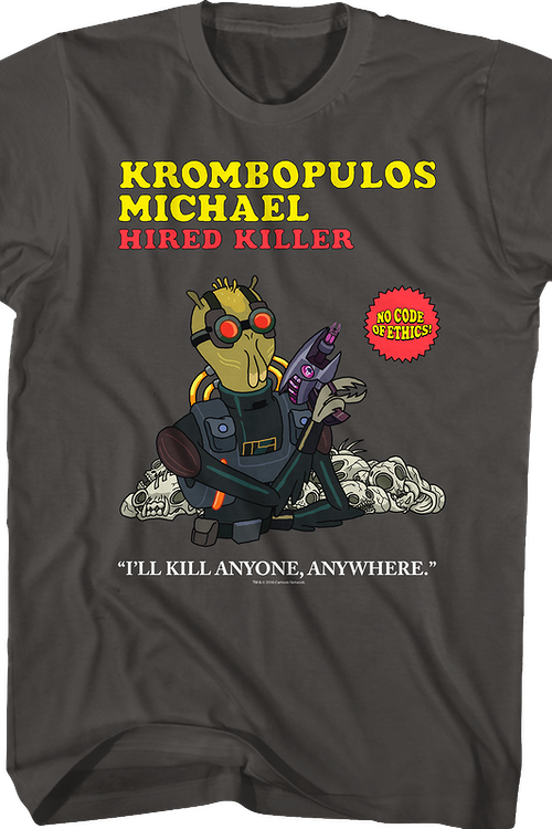 Krombopulos Michael Rick and Morty T-Shirt