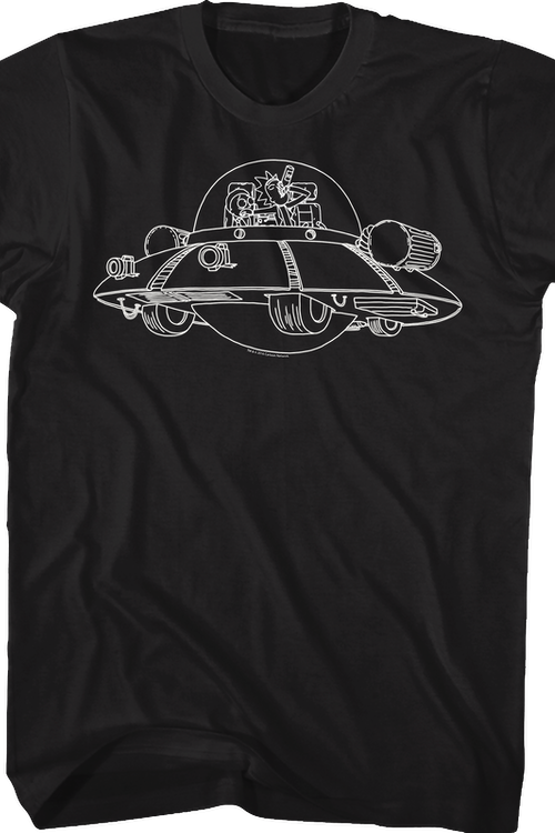 Space Cruiser Rick and Morty T-Shirt