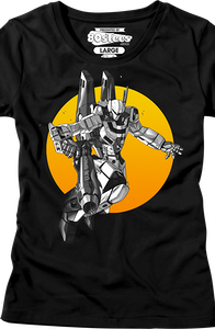 Junior Black Sunset Wars Robotech Shirt