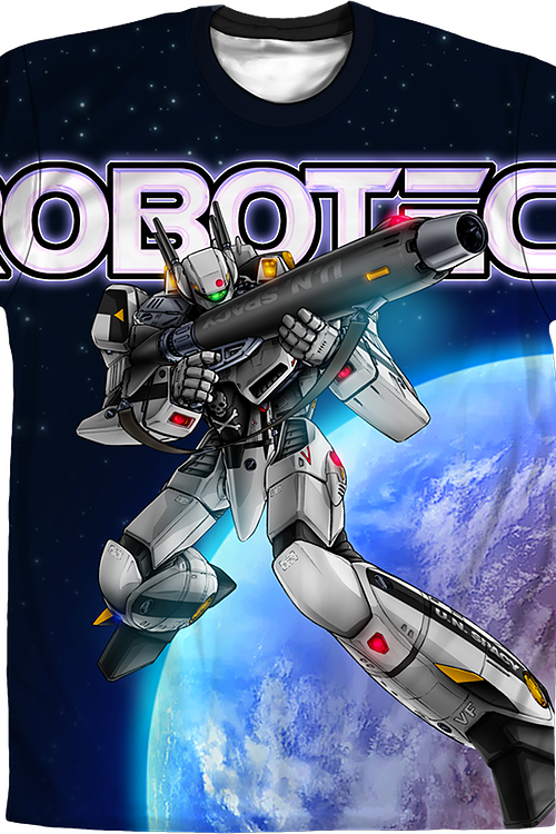 Valkyrie In Space Robotech T-Shirt