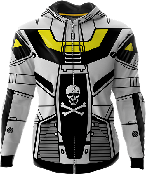 Robotech Skull-One Valkyrie Costume Hoodie