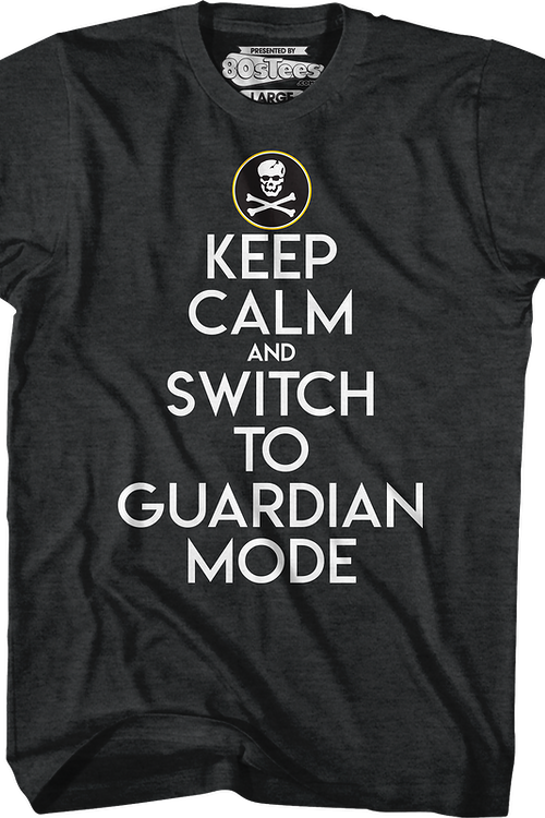 Keep Calm And Switch To Guardian Mode Robotech T-Shirt