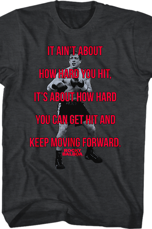 Ain't How Hard You Hit Rocky T-Shirt