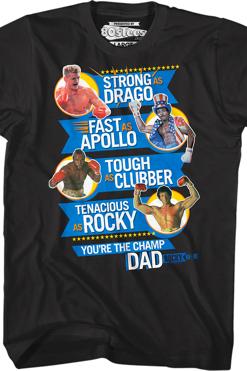 Rocky Father's Day T-Shirt