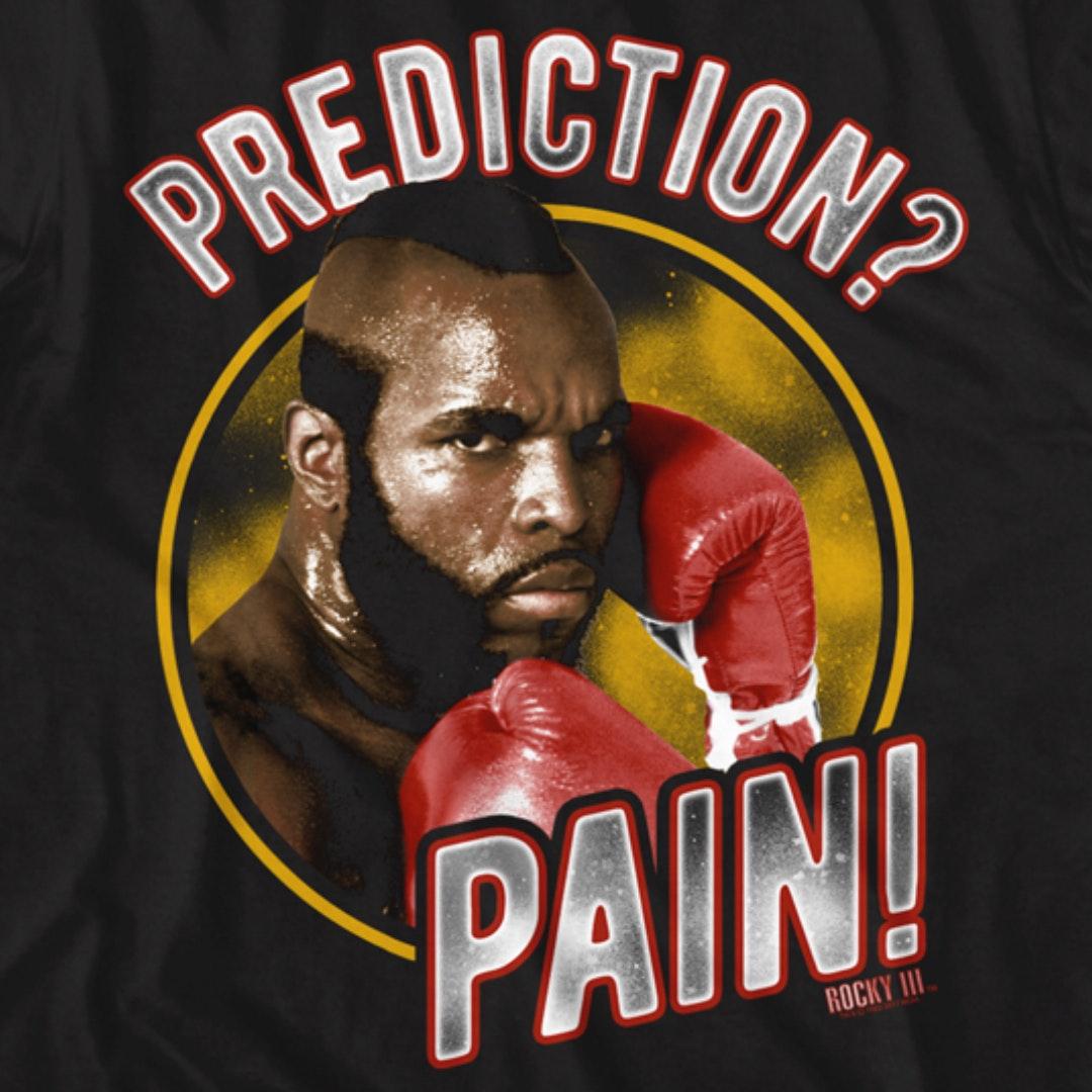 Rocky Mr T Clubber Lang Prediction Pain Mens Vest
