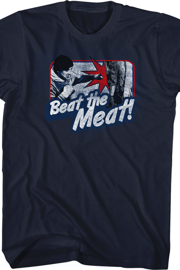 Beat The Meat Rocky T-Shirt