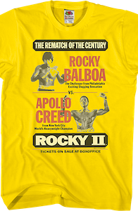 Rematch of the Century Rocky T-Shirt