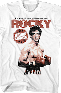 Million To One Shot Rocky T-Shirt