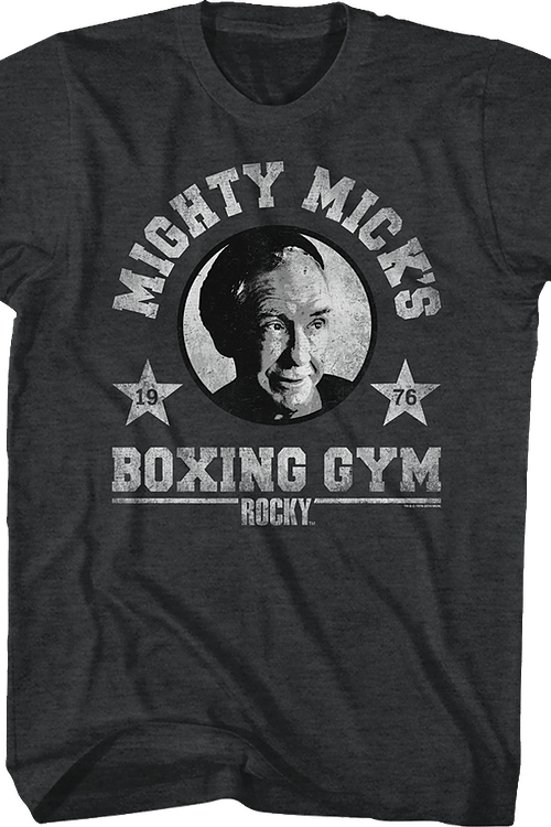 Mighty Mick's Boxing Gym Rocky T-Shirt