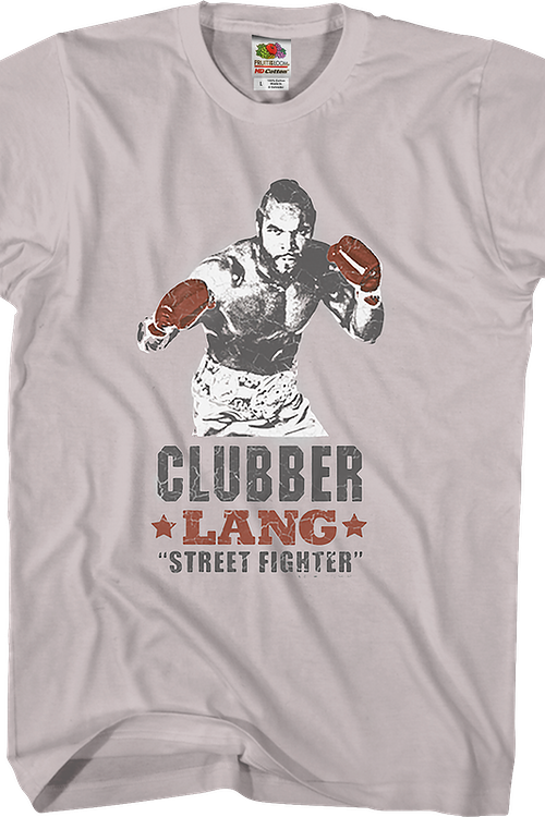 Clubber Lang Street Fighter Rocky T-Shirt