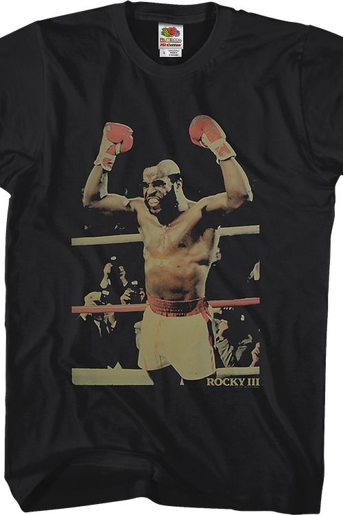 Clubber Lang Celebrating Rocky III T-Shirt
