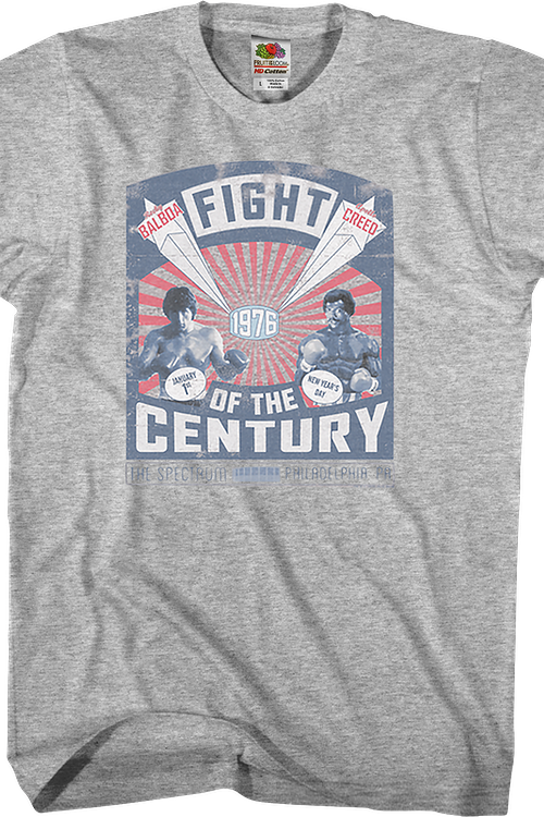 Fight of the Century Rocky T-Shirt