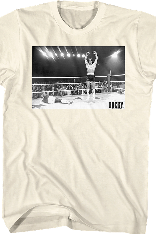 Knockout Celebration Rocky T-Shirt