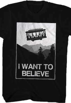 I Want To Believe Mr. Rogers T-Shirt