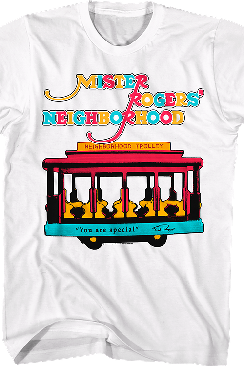 Neighborhood Trolley Mr. Rogers T-Shirt