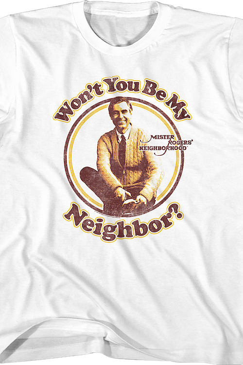 Youth Won't You Be My Neighbor Mr. Rogers Shirt
