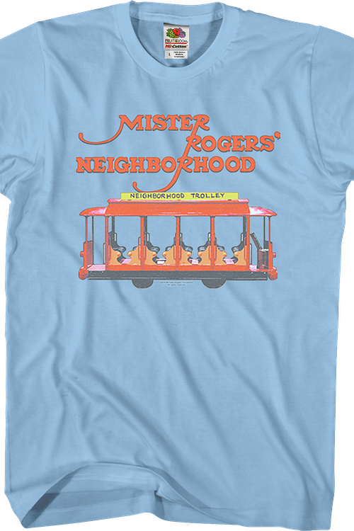 Trolley Mr. Rogers T-Shirt