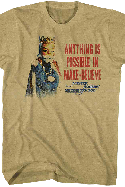 Anything Is Possible Mr. Rogers T-Shirt