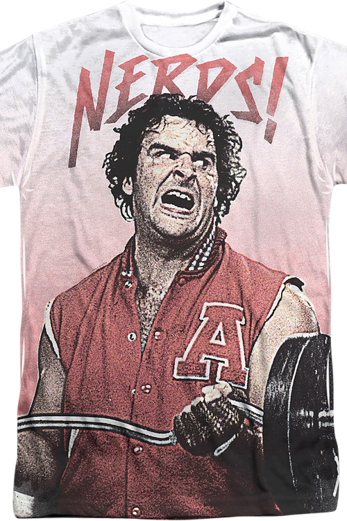 afa64c9ec503 Nerds Ogre Sublimation Shirt: Revenge Of The Nerds Mens T-shirt
