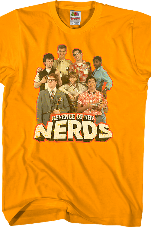 39dbef376bfe Cast Revenge Of The Nerds Shirt: Revenge Of The Nerds Mens T-shirt
