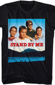 Movie Poster Stand By Me T-Shirt