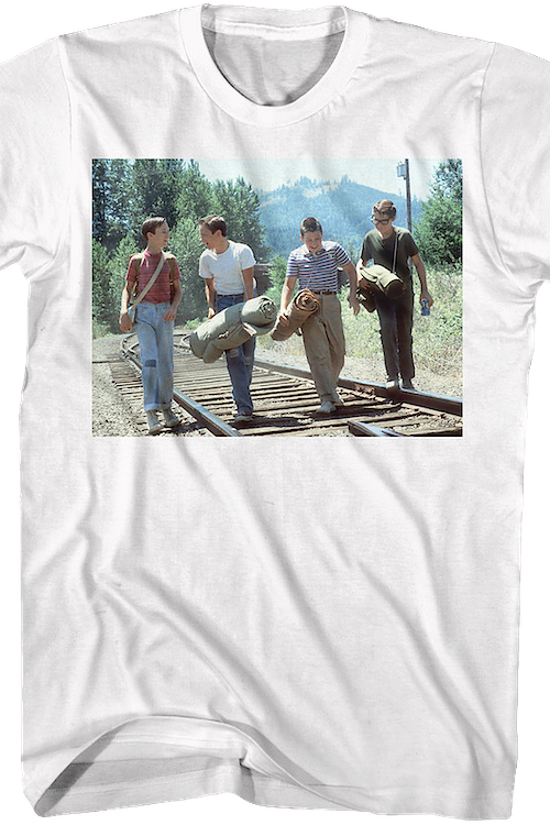 Train Track Stand By Me T-Shirt