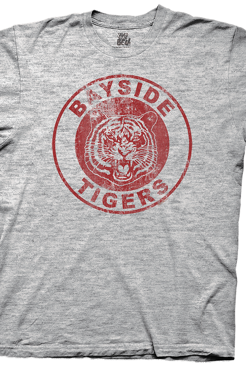Distressed Bayside Tigers T-Shirt