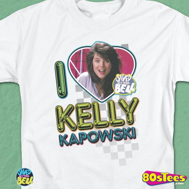 I Heart Kelly Kapowski Shirt: Saved By The Bell Mens T-shirt