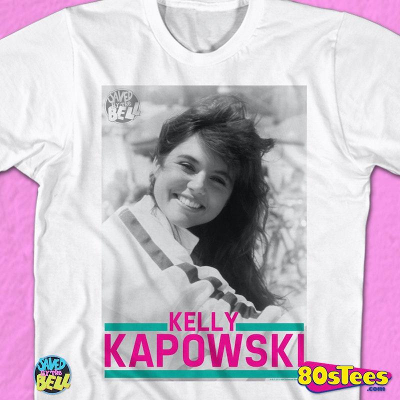 Kelly Kapowski Photo Shirt: 80s TV Saved By The Bell T-shirt