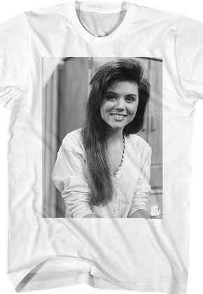 Kelly Kapowski Portrait Saved By The Bell T-Shirt