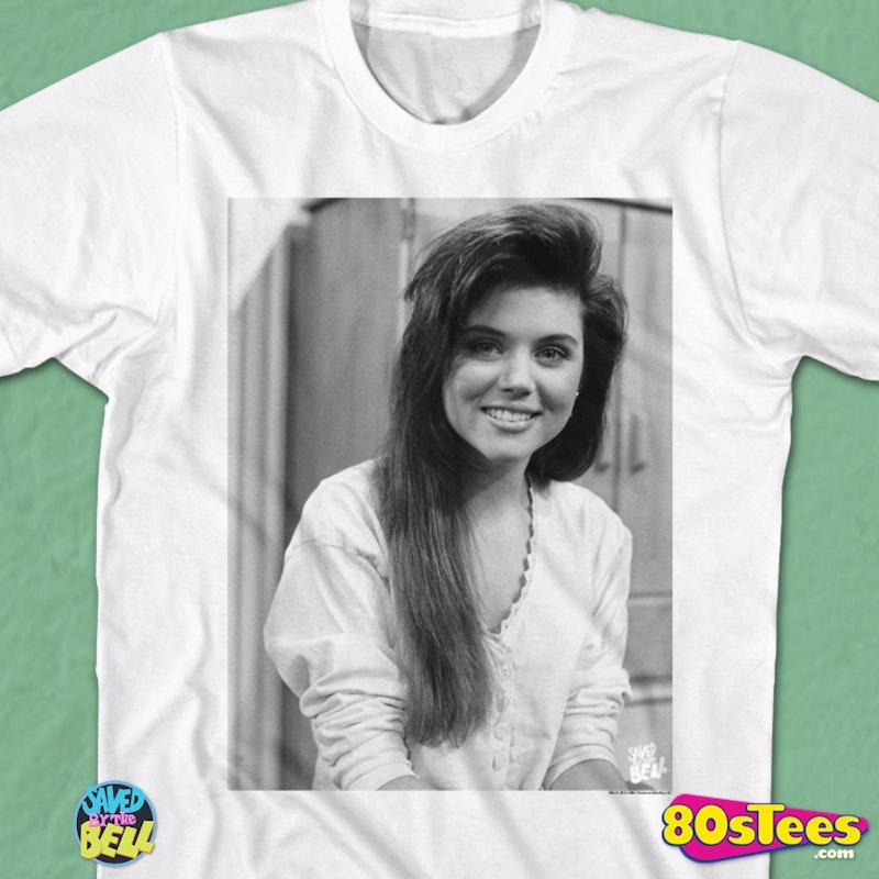 Kelly Kapowski Portrait Saved By The Bell T-Shirt